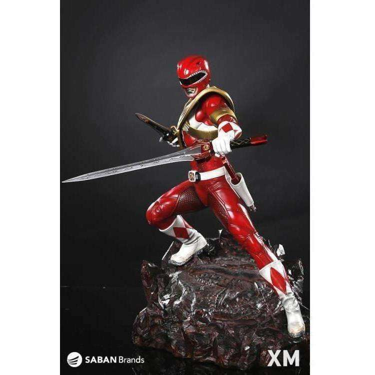 Mighty Morphin Power Rangers Premium Collectibles Red Ranger Statue - Q3 2019