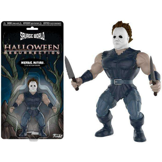 Halloween Resurrection Savage World Michael Myers - December 2018