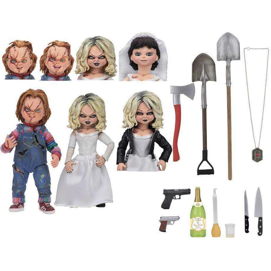 Bride of Chucky Ultimate Chucky & Tiffany Two-Pack - DECEMBER 2018