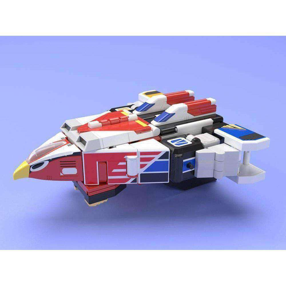 Birdman Squadron Jetman Super Mini-Pla Jet Icarus Exclusive Model Kit - JULY 2019
