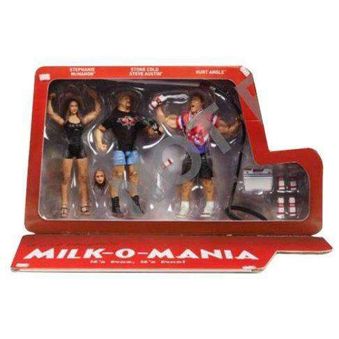WWE Milk-O-Mania Epic Moments Action Figure 3-Pack - SEPTEMBER 2018