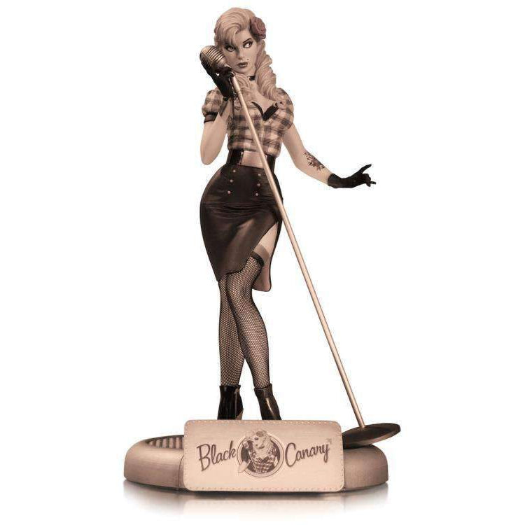 DC Bombshells Black Canary (Sepia Tone Variant) Limited Edition Statue - DECEMBER 2019
