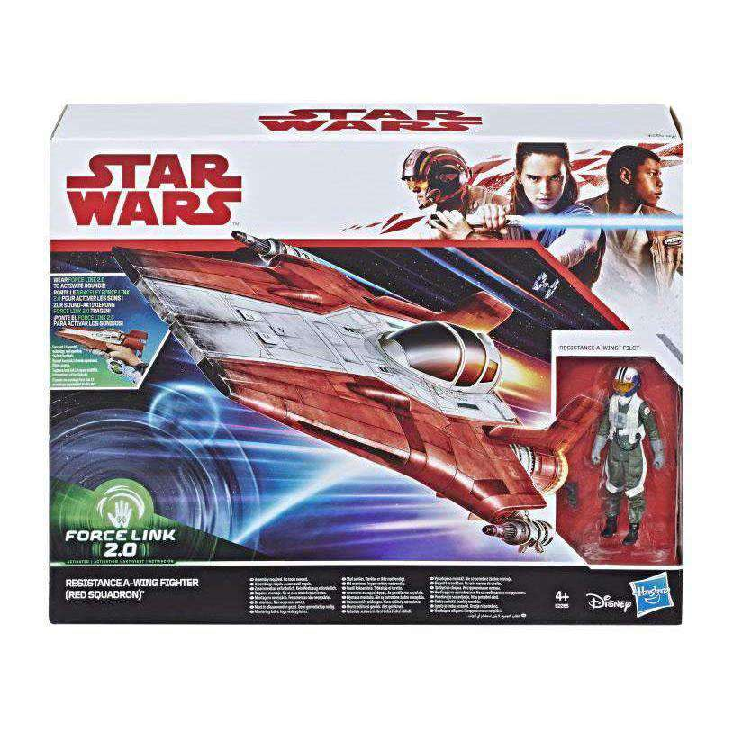 Star Wars Force Link 2.0 Resistance A-Wing Fighter (The Last Jedi) - Q3 2019