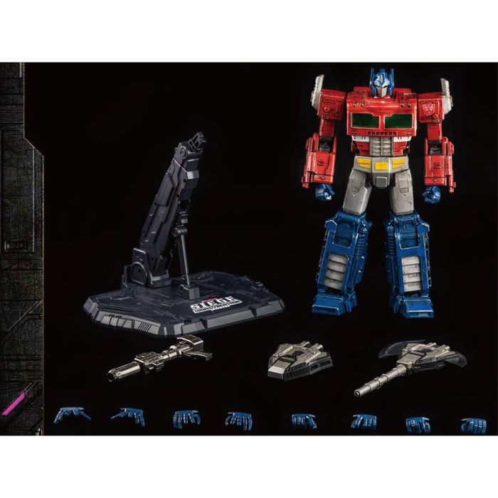 Transformers War for Cybertron Trilogy Optimus Prime Deluxe Action Figure - MAY 2021