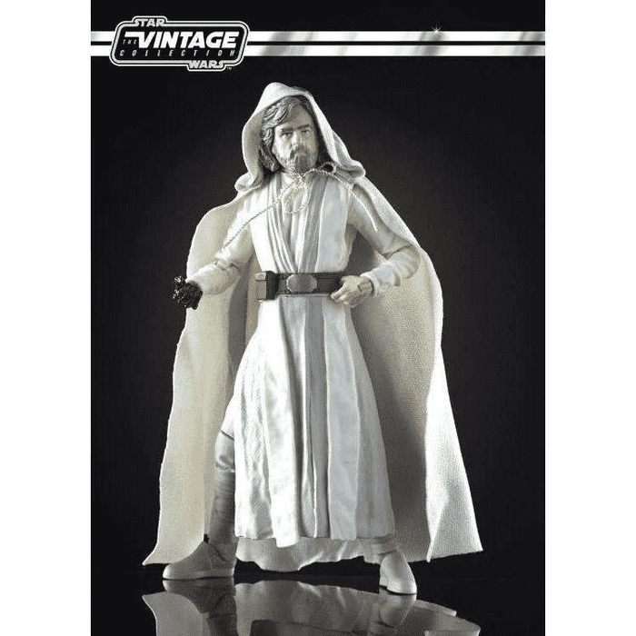 Star Wars The Vintage Collection Luke Skywalker Jedi Master 3 3//4-Inch Action Fi
