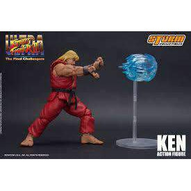 Ultra Street Fighter II: The Final Challengers Ken 1:12 Scale Action Figure