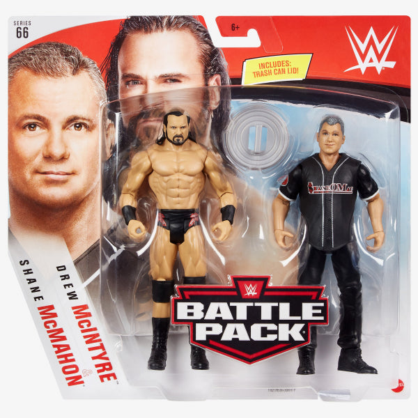 WWE Drew Mcintyre and Shane Mcmahon Basic Series 66 Action Figure 2-Pack - AUGUST 2020
