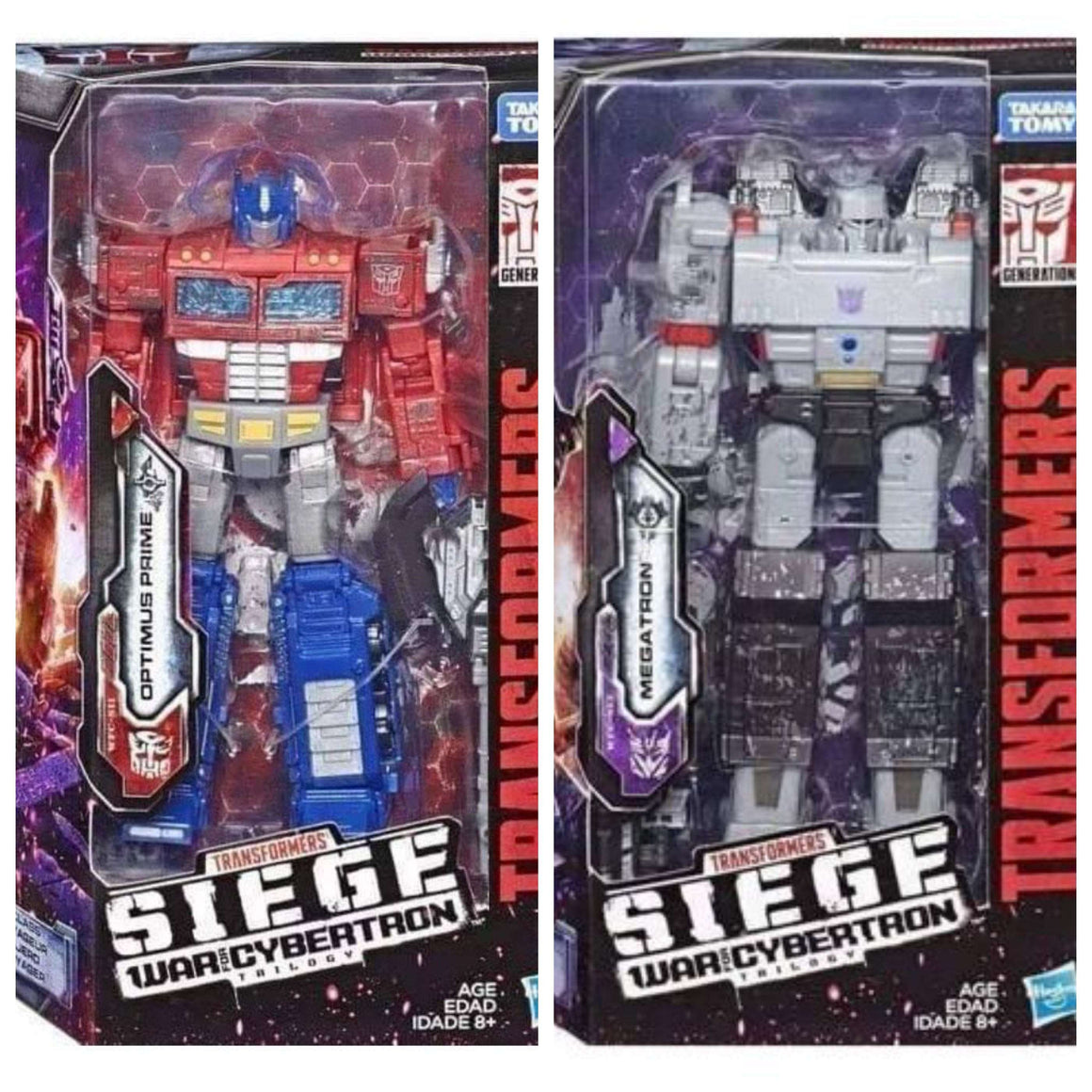 Transformers: War For Cybertron: Siege Voyager - Set of 2 - BACKORDERED FEBRUARY 2019