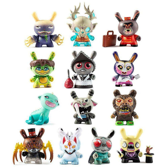 City Cryptid Dunny Mini Series - Complete Case of 24
