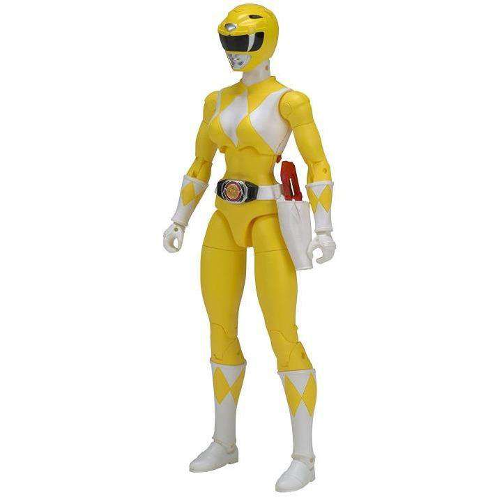 "Mighty Morphin Power Rangers Legacy 6"" Yellow Ranger"