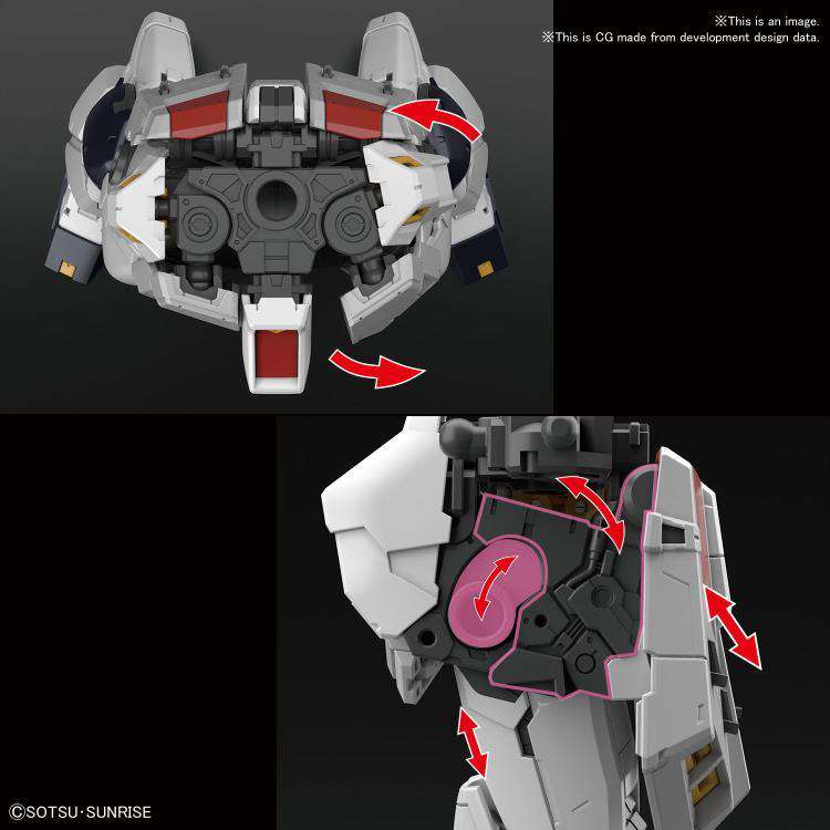 Gundam RG 1/144 Nu Gundam Model Kit - SEPTEMBER 2019