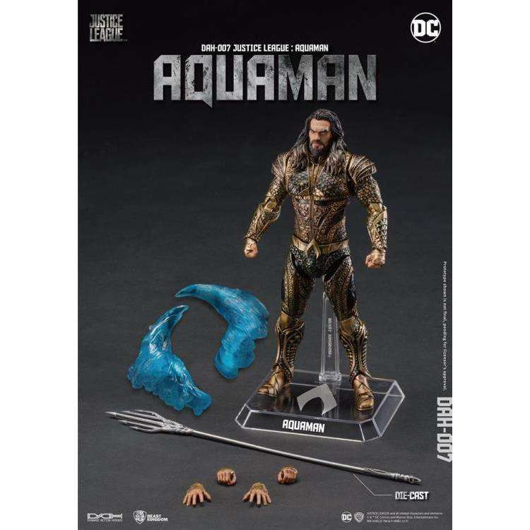 Justice League Dynamic 8ction Heroes DAH-007 Aquaman PX Previews Exclusive