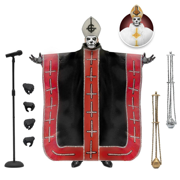 Ghost Ultimates Papa Emeritus I 7-Inch Action Figure - DECEMBER 2021
