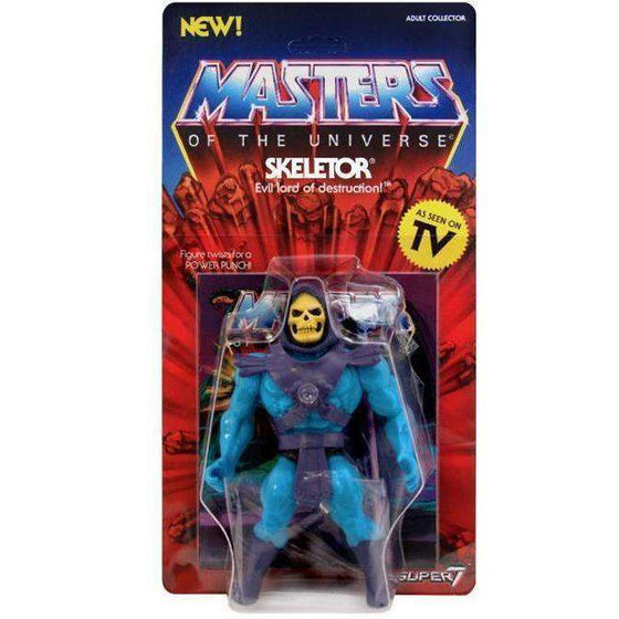 Masters of the Universe Vintage Wave 1 - Skeletor - BACKORDERED SHIPS MAY 2019