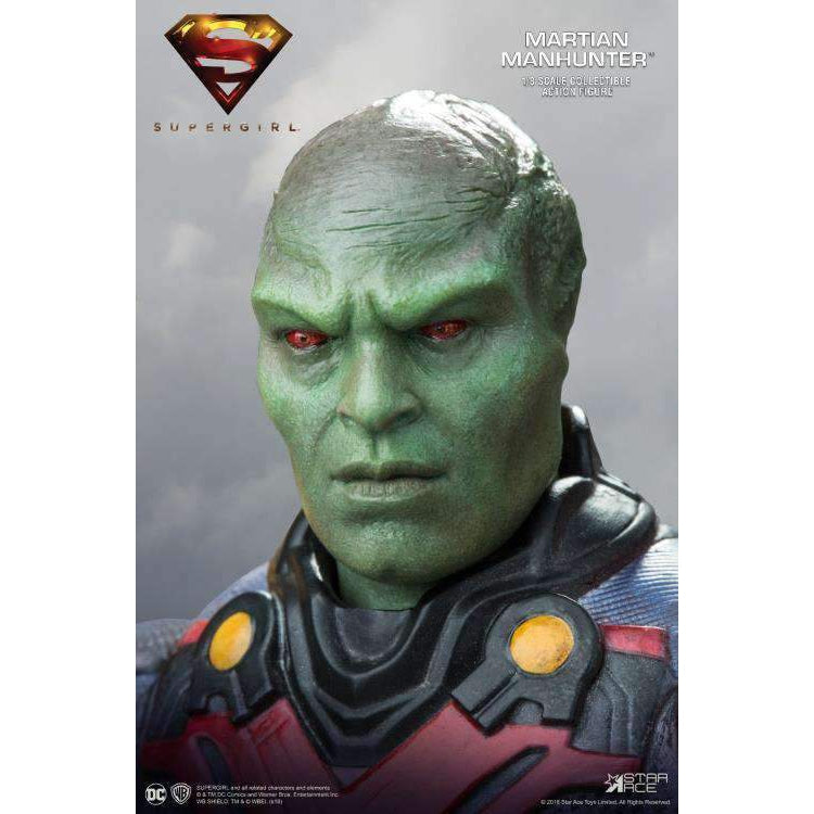 Supergirl (TV Series) Real Master Series Martian Manhunter (Deluxe) 1/8 Scale Figure - NOVEMBER 2019