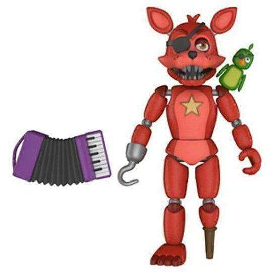Freddy Fazbear's Pizzeria Simulator Rockstar Foxy Action Figure - NOVEMBER 2018