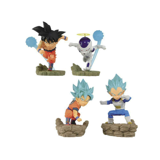 Dragon Ball Super World Collectable Diorama Vol. 3 Set of 4 Figures - JULY 2019