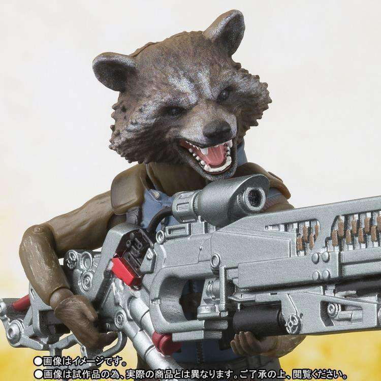 Avengers: Infinity War S.H.Figuarts Rocket Raccoon Exclusive - NOVEMBER 2018