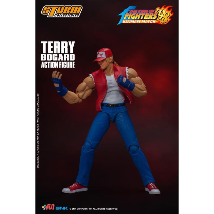The King of Fighters '98 Terry Bogard 1:12 Scale Figure - FEBRUARY 2020