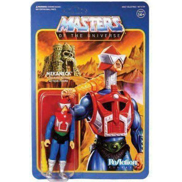 Masters of the Universe ReAction Mekaneck Figure