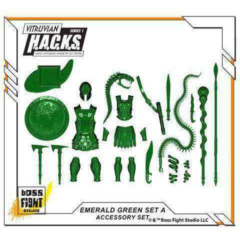 Emerald Green (Transparent) - Accessory Set - A