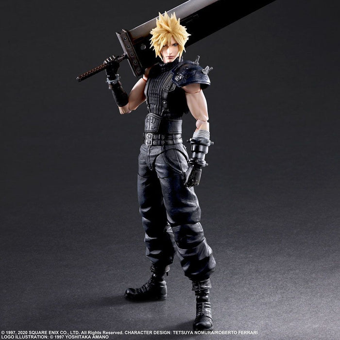 Final Fantasy VII Remake Play Arts Kai Cloud Strife Version 2 - Q4 2020