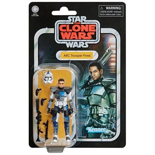 Star Wars The Vintage Collection Clone Trooper Fives 3 3/4-Inch Action Figure - SEPTEMBER 2020