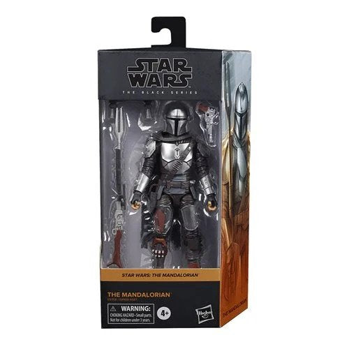 Star Wars The Black Series Wave 5 (2020) - The Mandalorian (Beskar) 6-Inch Action Figure - AUGUST 2020