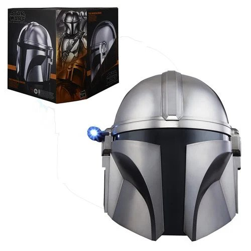 Star Wars The Black Series The Mandalorian Premium Electronic Helmet - JUNE 2021