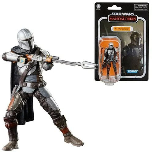 Star Wars The Vintage Collection The Mandalorian (Full Beskar) 3 3/4-Inch Action Figure Figure - FEBRUARY 2021