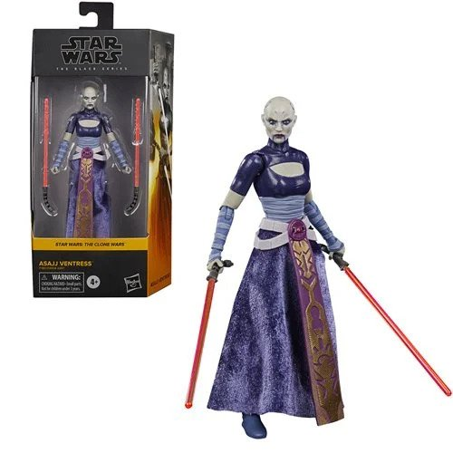 Star Wars The Black Series Asajj Ventress 6-Inch Action Figure - APRIL 2021