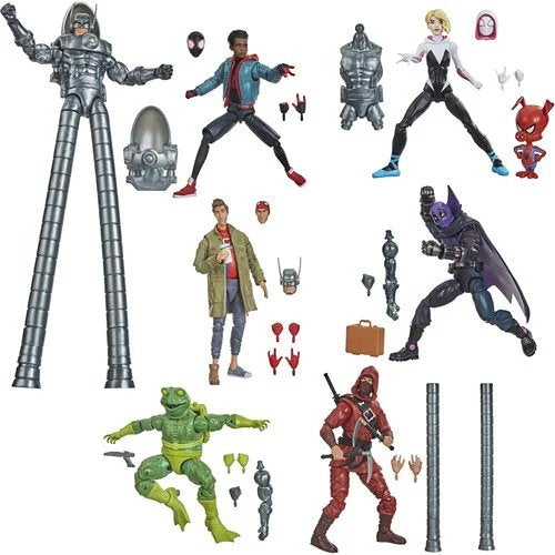 Spider-Man Marvel Legends 6-Inch Action Figures Wave 1 Set of 6 - Stilt-Man Series - FEBRUARY 2021