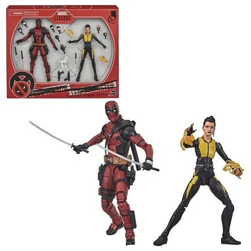 X-Men Marvel Legends Deadpool and Negasonic Teenage Warhead 6-Inch Action Figure 2-Pack - OCTOBER 2020