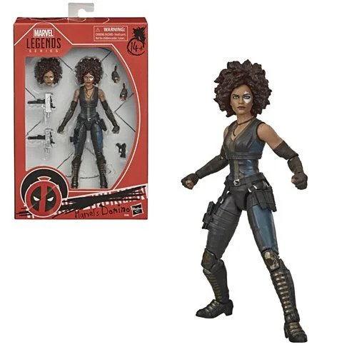 X-Men Marvel Legends Domino 6-Inch Action Figure - OCTOBER 2020