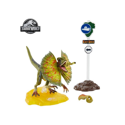 Jurassic Park Dilophosaurus 6-Inch Scale Amber Collection Action Figure - JULY 2020
