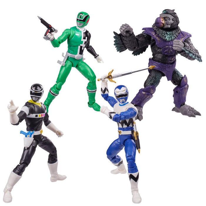 Power Rangers Lightning Collection 6-Inch Figures Wave 9 Set of 4 - JULY 2021