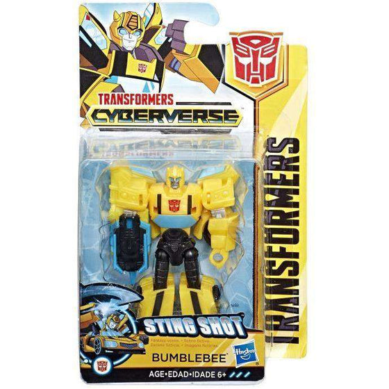 Transformers Cyberverse Scout Wave 1 - Bumblebee - AUGUST 2018