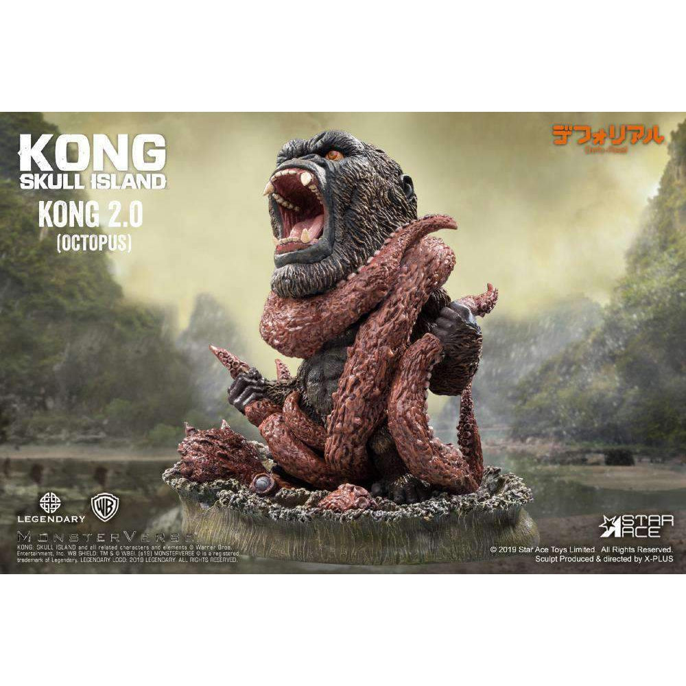 Kong: Skull Island Deform Real Series Kong Vs. Giant Octopus - Q4 2019