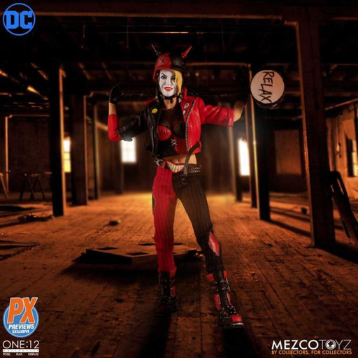DC Harley Quinn Playing for Keeps Edition One:12 Collective Action Figure - PX - SEPTEMBER 2020