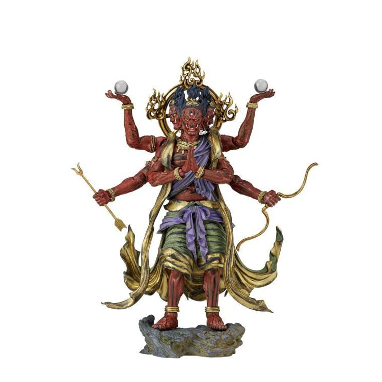 KT Project KT-25 Takeya Style Jizai Okimono Ashura (Painted Edition) - FEBRUARY 2019