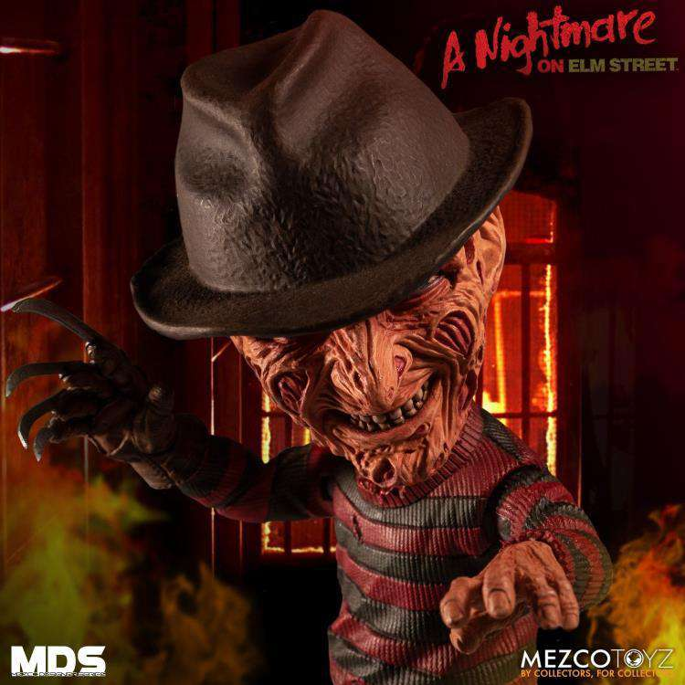 A Nightmare on Elm Street 3 Mezco Designer Series Freddy Krueger