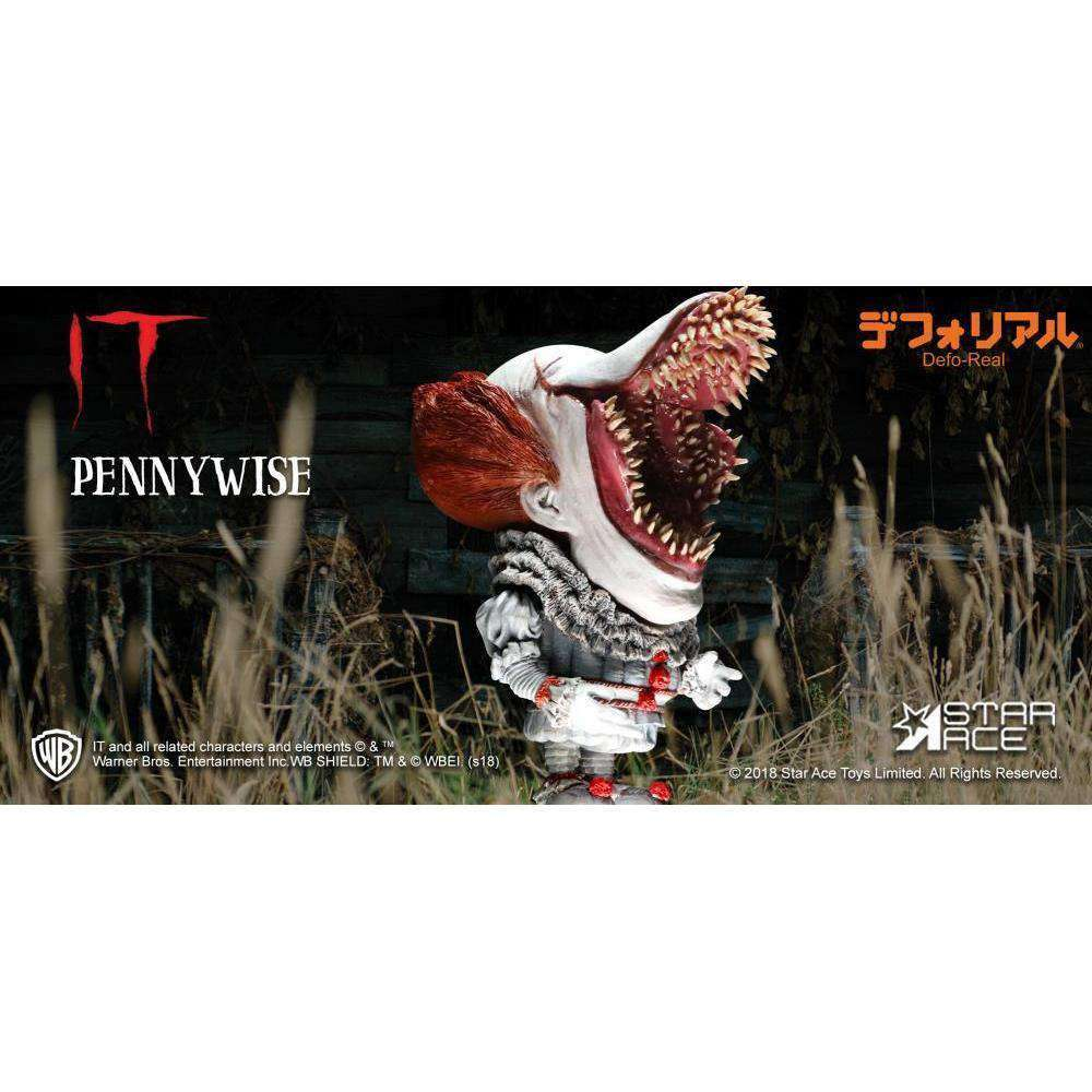 It (2017) Deform Real Series Pennywise (Open Mouth Ver.) - Q3 2019