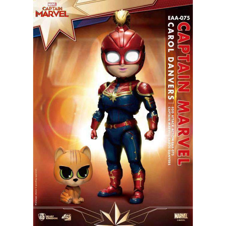 Captain Marvel Egg Attack Action EAA-075 Carol Danvers PX Previews Exclusive - NOVEMBER 2019