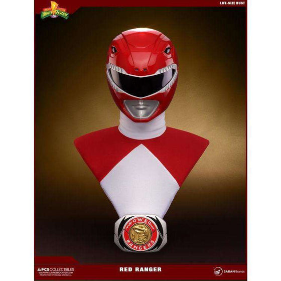 Mighty Morphin Power Rangers Red Ranger Life-Size Bust - Q3 2018