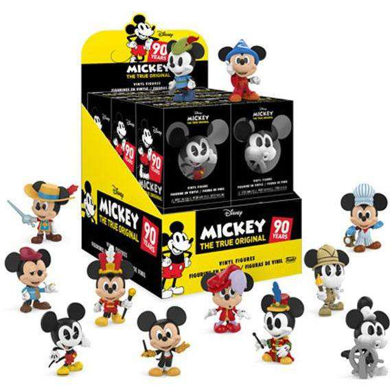 Disney Mickey's 90th Anniversary Box of 12 Mini Vinyl Figures - Q4 2018