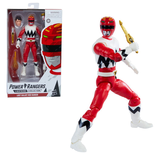 Power Rangers Lightning Collection Lost Galaxy Red Ranger 6-Inch Action Figure - MARCH 2021