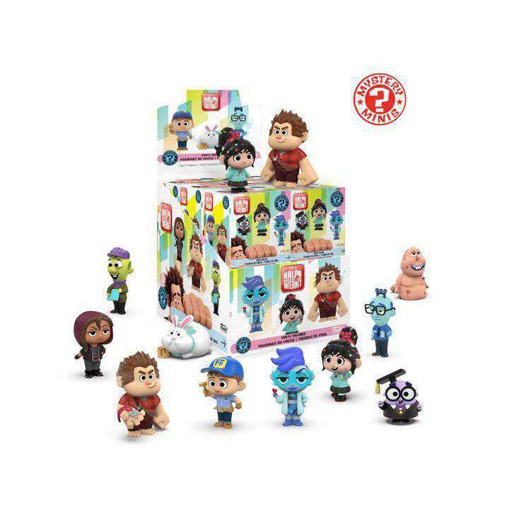 Ralph Breaks the Internet Mystery Minis Box of 12 Figures - MARCH 2019