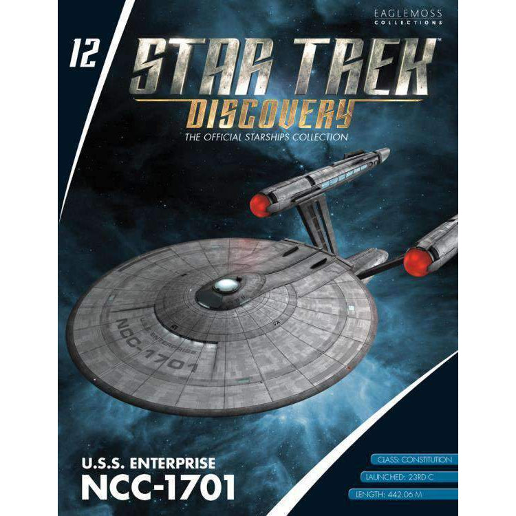 Star Trek: Discovery Collection #12 USS Enterprise NCC-1701 - SEPTEMBER 2019