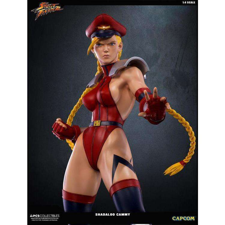 Street Fighter Shadaloo Cammy 1/4 Scale Statue (LE 500) - Q1 2019