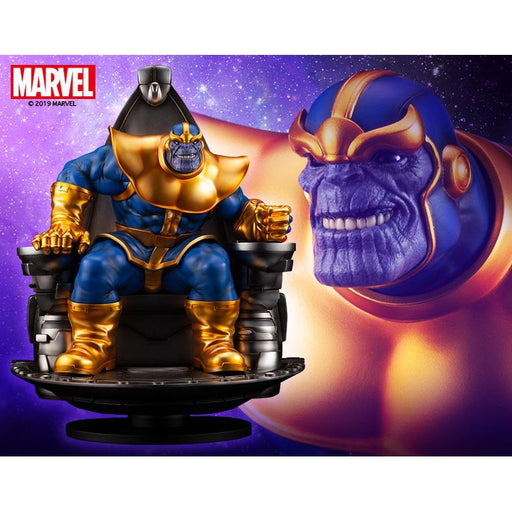 Marvel Thanos On Space Throne Fine Art Statue - MARCH 2020